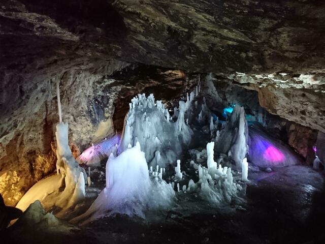 Scărișoara-Höhle, Gletscherhöhle, Rumänien