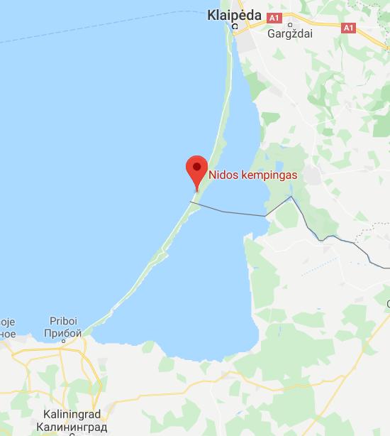 Nidos kempingas ,Lithuania