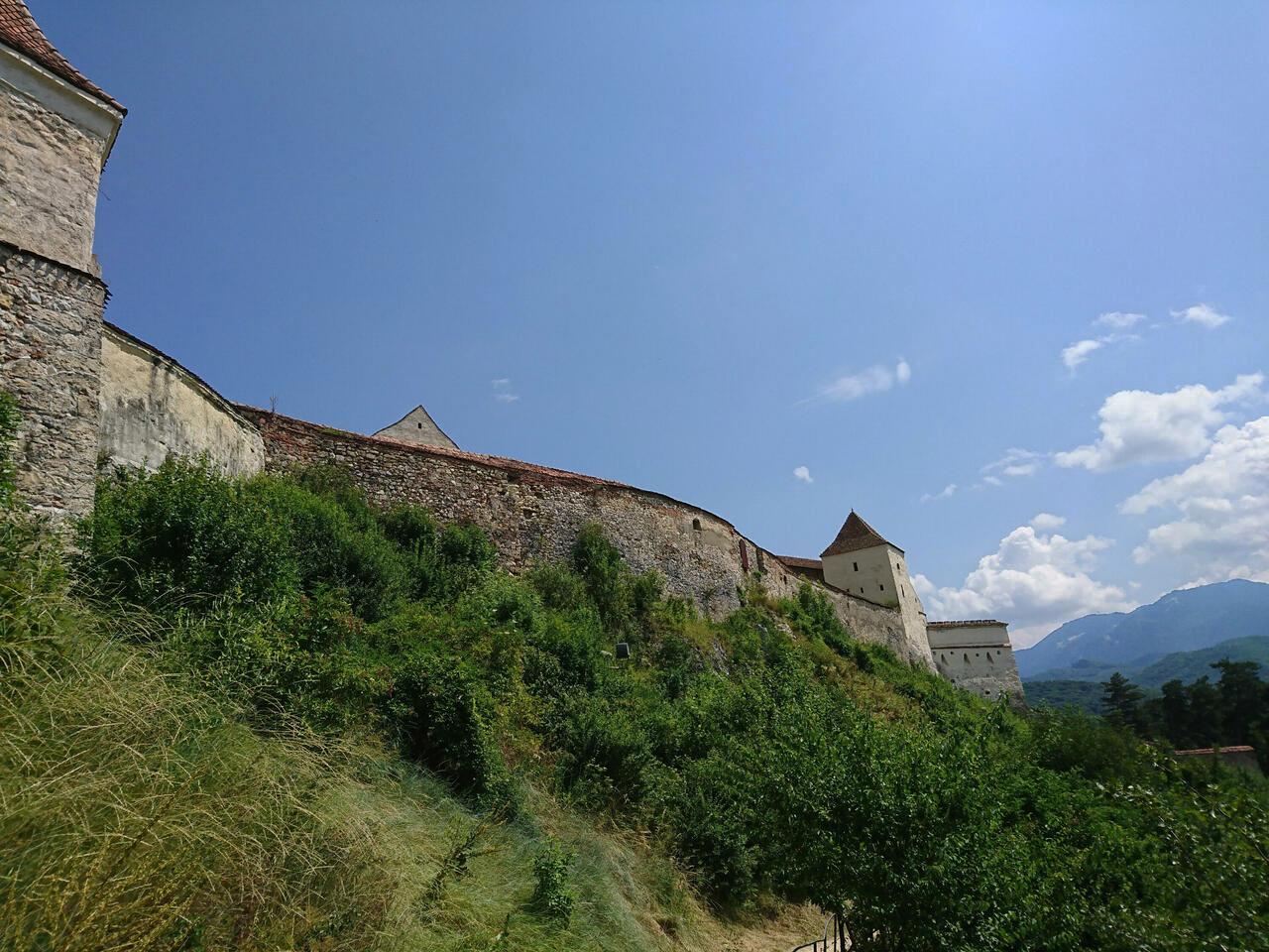 Bauernburg Rosenau, Brasov;Rumänien