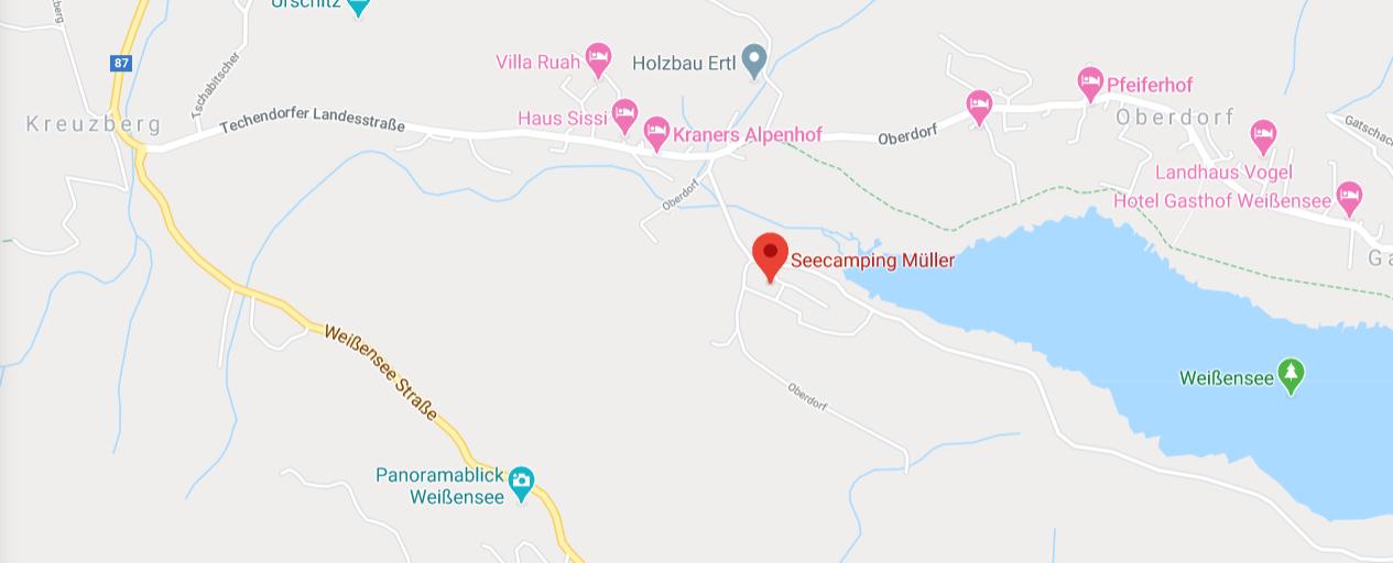 Seecamping Müller, Weissensee,Österreich