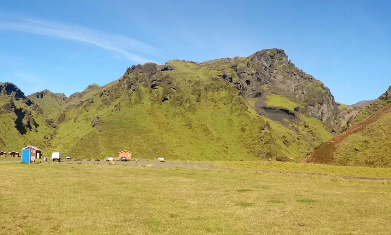 Campingplatz Pakgil; Vík í Mýrdal, (Süd)Island