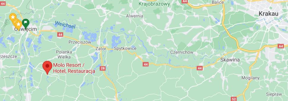 Molo Resort Camping, Oświęcim (Auschwitz);Polen