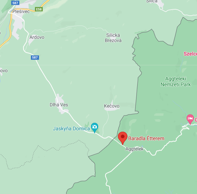 Baradla Étterem, Nord Ungarn; slowakischeGrenze